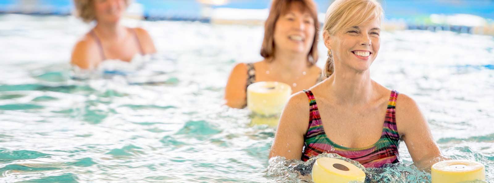 Fitnesskurse im Wasser in Köln-Nord, Köln-Longerich am Heilig Geist-Krankenhaus.