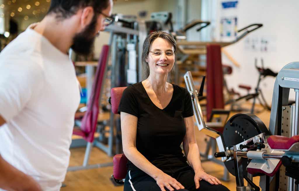 Fitnessstudio Köln-Longerich, gesundheitsorientiertes Training bei ProPhysio Köln
