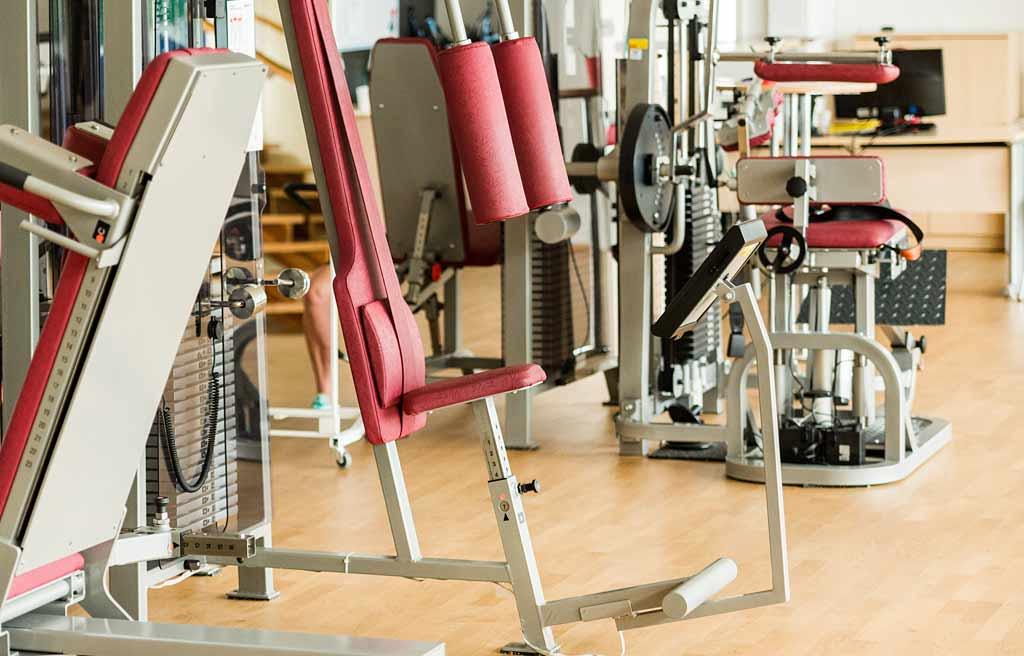 Gesundheitsorientiertes Fitnessstudio Köln-Longerich, Detailfoto Fitnessraum Geräte