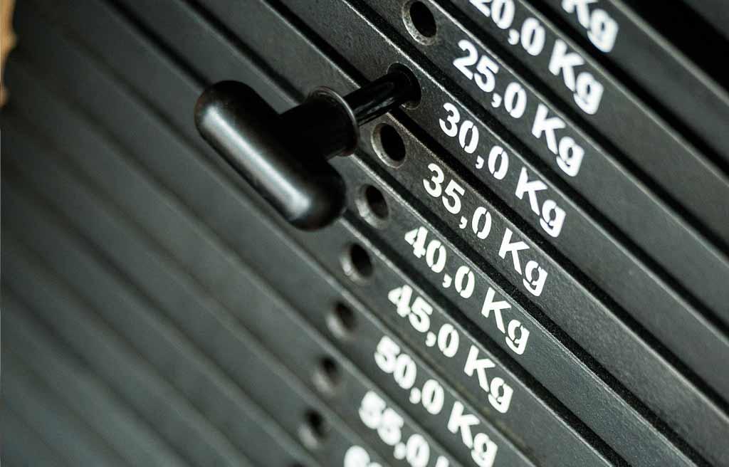 Fitnessstudio Köln-LOngerich, Köln-Nord - Detailfoto Gewichte